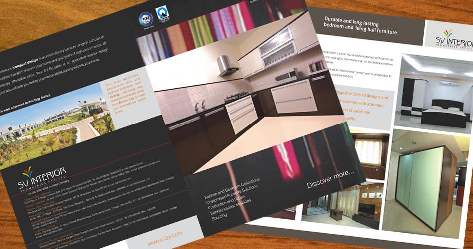 Design hyderabad dental brochure design hyderabad hospital for Interior brochure designs