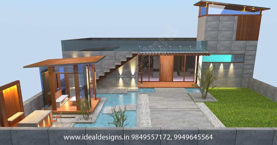 real estate company 3d elevations Hyderabad, construction elevation design, building elevations